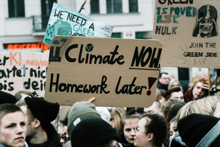 Young people all over the world are taking action against climate change.