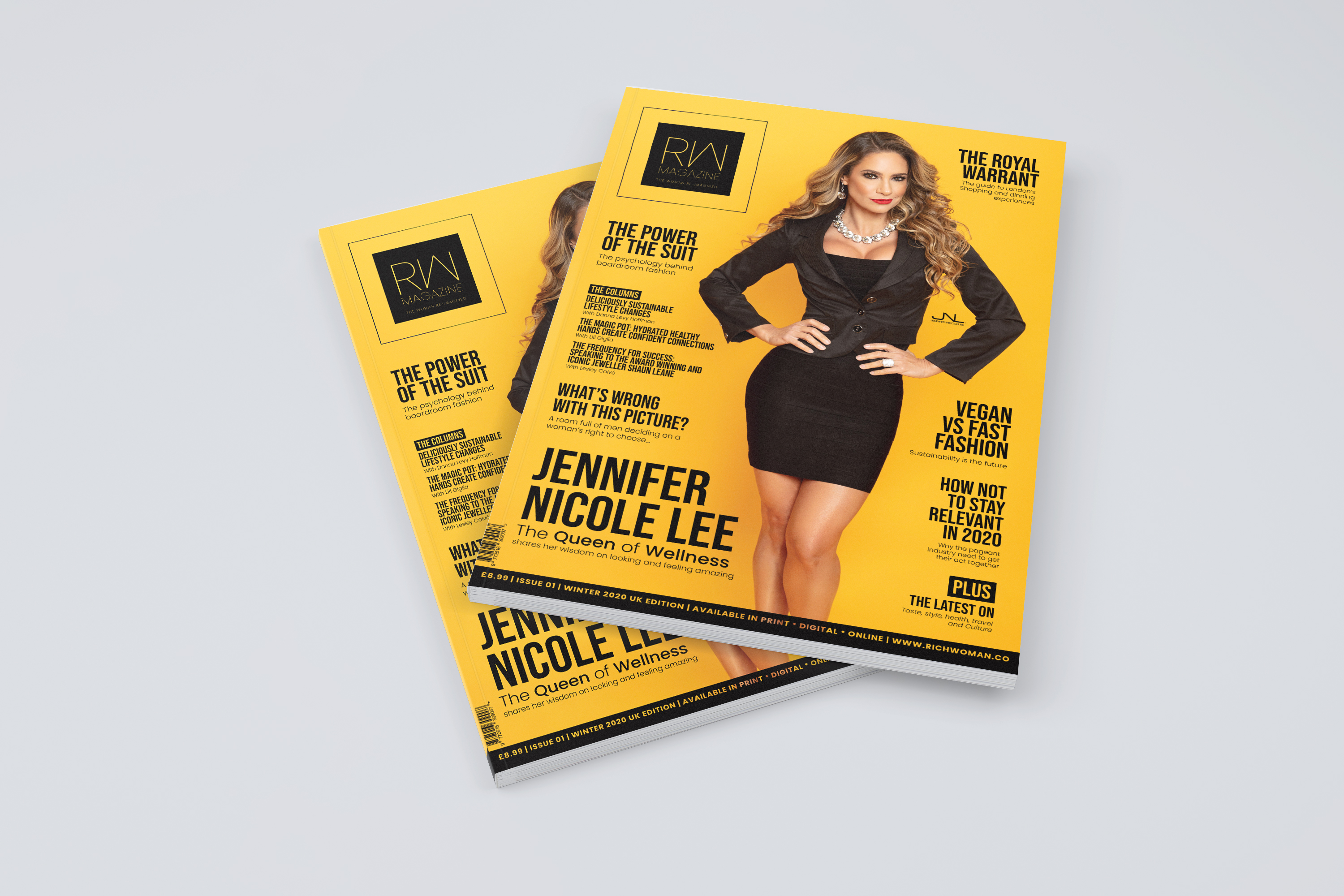 MTN Press Limited is excited to announce the launch of its new British Luxury Lifestyle magazine, Rich Woman in January 2020!